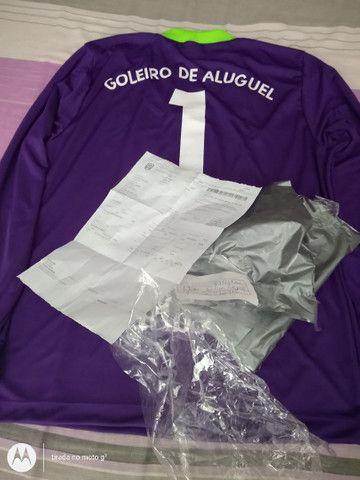 Camisa de goleiro de aluguel - Foto 4