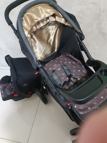 Kit carrinho + bebê conforto  - Foto 2