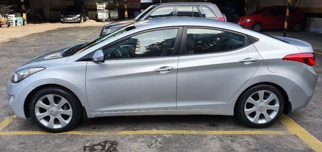 Elantra 2012 - sem pressa pra vender. Carro de garagem - Foto 3