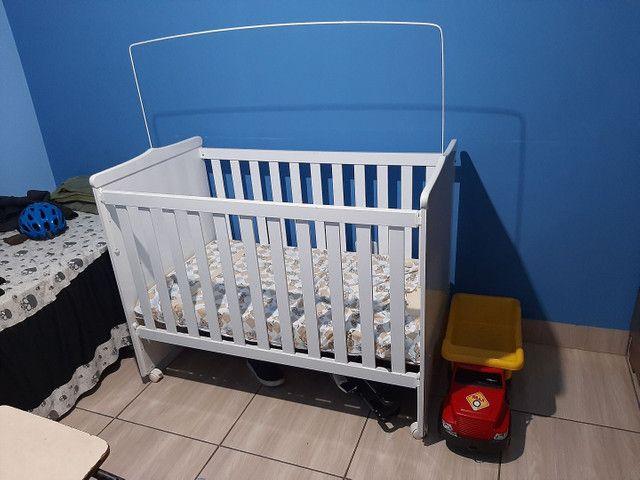 Berço americano +  carrinho de bebê da galzerane - Foto 2
