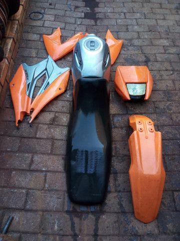 Kit de carenagem pra moto de trilha