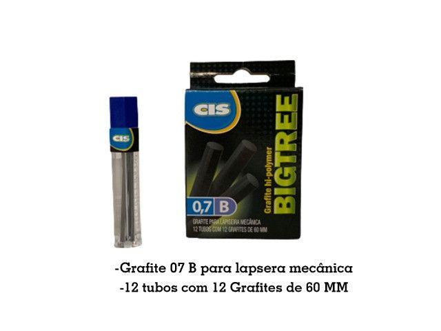 Caixa de Grafite hi polymer 0,7 para lapiseira mecânica BigTree