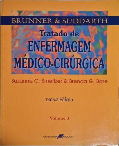 Tratado de enfermagem médico cirurgica Brunner - Foto 4