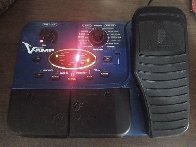 Pedaleira X V amp ( Leia o anúncio ) - Foto 6