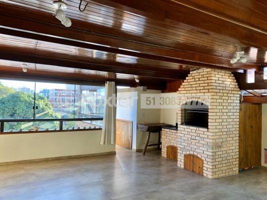 Cobertura para venda possui 207 metros quadrados com 2 quartos em Camaquã - Porto Alegre -