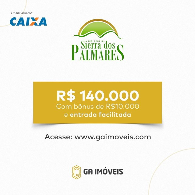 Lindas casas novas em Palmares, Pernambuco, 2 quartos, amplo quintal por apenas 130mil! - Foto 9
