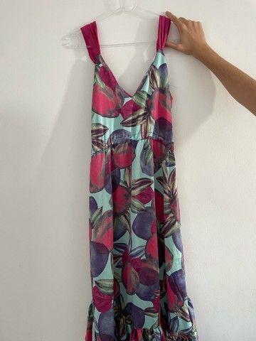 Vestido de seda floral  - Foto 4