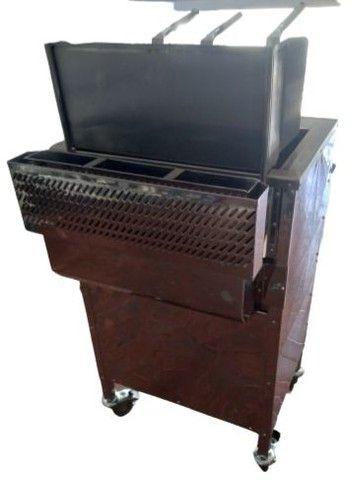 Fritadeira quadrada com cestos Loja do Pasteleiro para salgados e porções * Peça Única  - Foto 5
