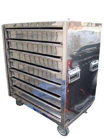 .Armário Térmico Loja do Pasteleiro para Pastéis com gavetas * Peça Única  - Foto 5