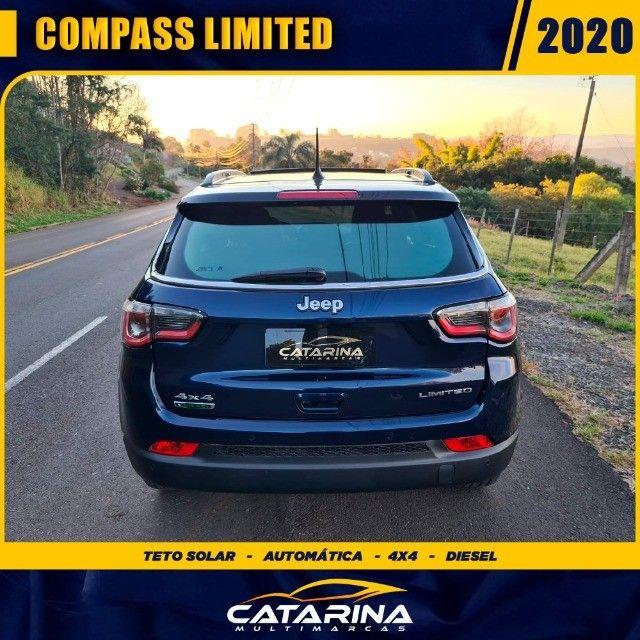 Jeep Compass Limited 2020 com teto  - Foto 5