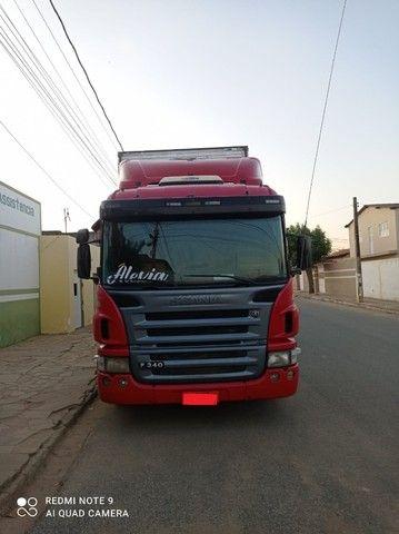 Scania P340 2011 + Baú Random 2008 15m + Rastreador Autotrac - Foto 6