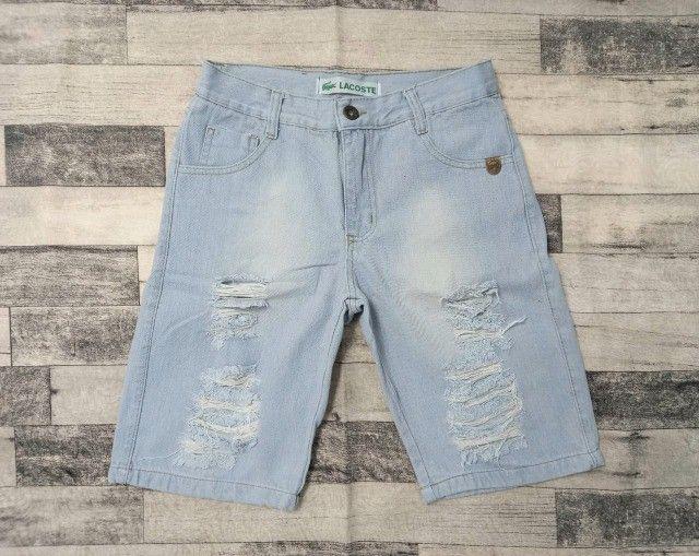 Bermuda Jeans de grife (Produto Novo) - Foto 5