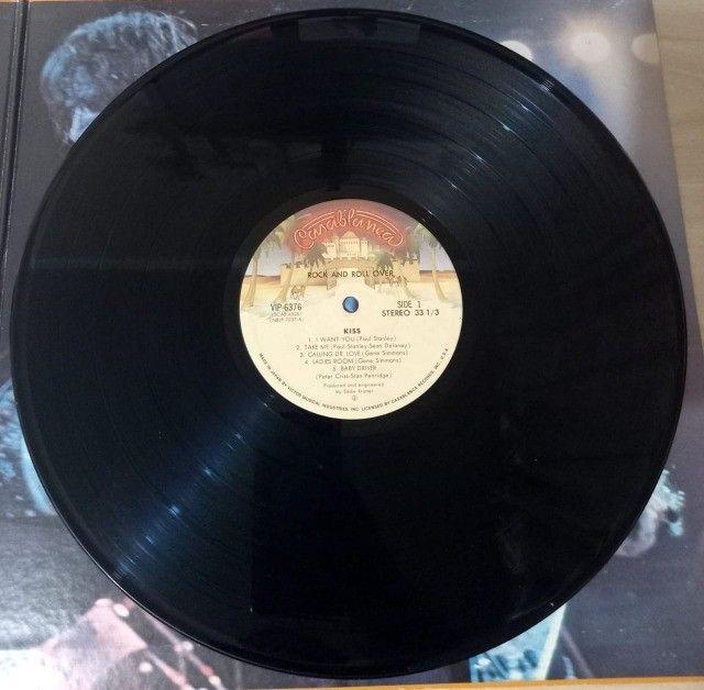 LP Kiss-Rock And Roll Over (1976) Casablanca - VIP-6376 Ed. Japão Vinil - Foto 3