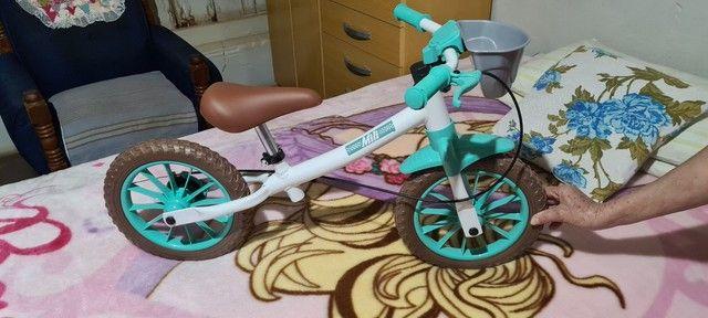 Bicicleta Equilibrio Balance Sem Pedal Aro 12 Nathor