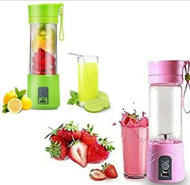 Mini Liquidificador Portátil Shake Take Juice Cup 4 Lâminas