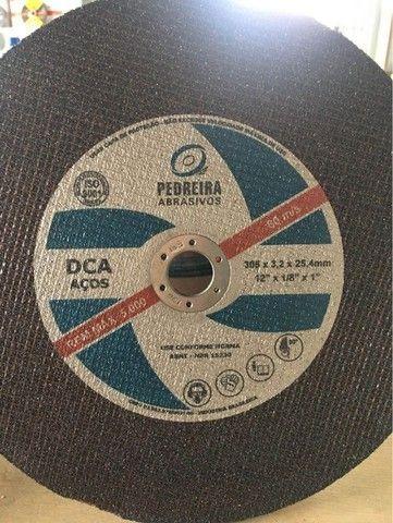 Disco De Corte 12 Polegadas - Furo 3/4 Para Metal