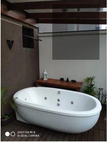 MI - Banheira Dupla Retrô com Aquecimento - Luxo e Sofisticação  - Foto 2