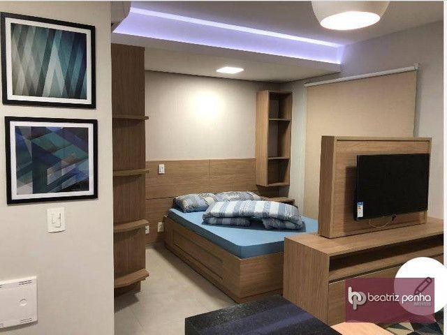 Apartamento com 1 dormitório para alugar, 34 m² por R$ 2.200,00/mês - Jardim Panorama - Sã - Foto 2