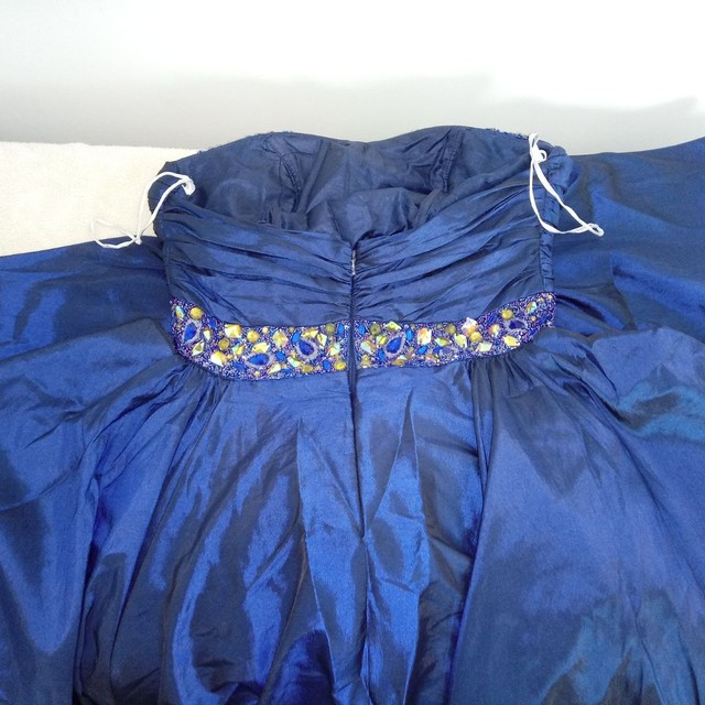 Vestido Festa Azul Royal - Foto 3