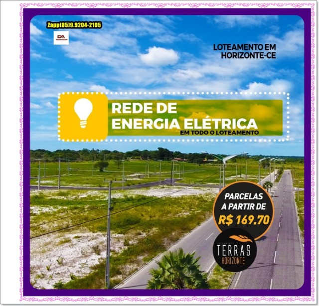 Lotes Terras Horizonte - Construção Liberada-&#$ - Foto 12