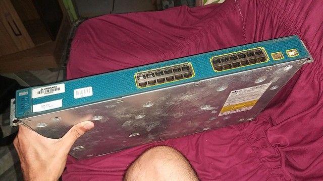 Switch Fast Cisco 3560 24 Portas Ts-e Emi + 02 Sfp<br><br>