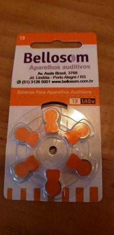 48 baterias 13 1.45V para aparelho auditivo - Foto 2
