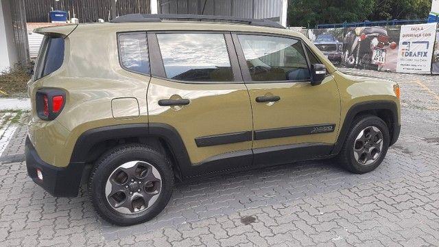 Jeep Renegade Sport 1.8 automático, 2º dono, novíssimo, vist 21 - Foto 3