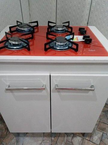 Vendo fogao cooktop novo ñä caixa com balcao - Foto 5