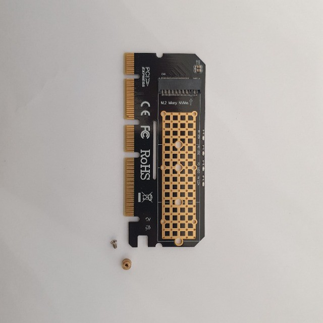 Adaptador Ssd M2 Nvme Pci-e 4x 8x 16x 3.0 - Foto 2