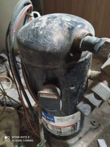 Compressor 90.000 BTUS TF7  gás R22  (R$ 900,00) - Foto 2