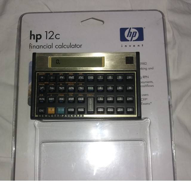 Calculadora Financeira HP 12C Gold - Foto 4