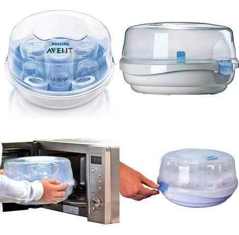 Esterilizador de Microondas a Vapor para Mamadeira Avent - Foto 2