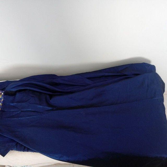 Vestido Festa Azul Royal - Foto 6