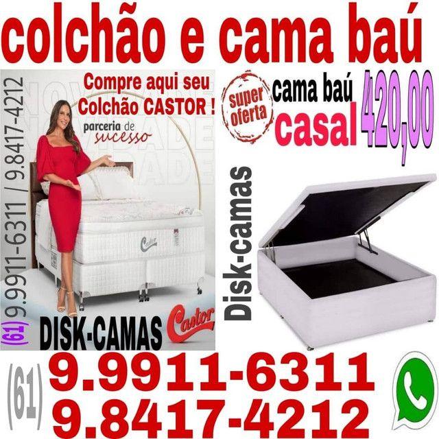 """Colchão """"Terminou aqui sua pesquisa !! Box bau e com gaveta - Foto 2"""