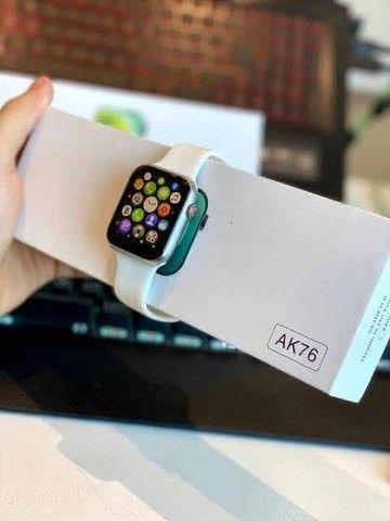 Relógio Smartwatch AK76 PRO Versão 2021!