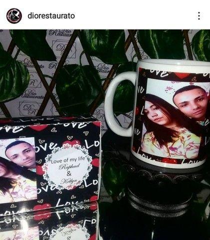 @diorestaurato, Xícara de porcelana personalizada! - Foto 5