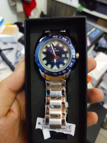 10x Sem Juros Relógio Esportivo Naviforce Analógico Digital Dual Time - Foto 4
