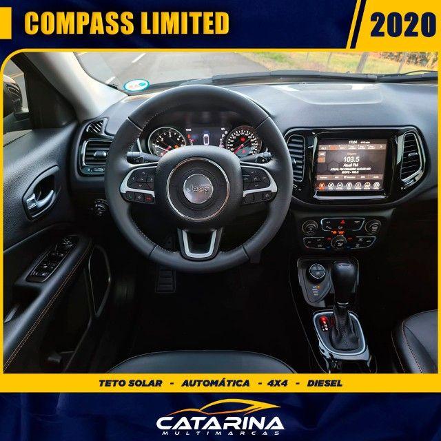 Jeep Compass Limited 2020 com teto  - Foto 10