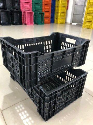 Caixa plástica 56x36x21 altura - Foto 3