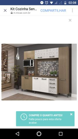 Cozinha com paneleiro