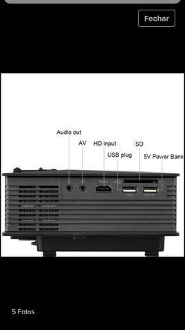 Projetor 1200 lumens (Wi-Fi)