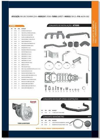 Kit Turbina VW 6.90/7.90 mwm 229/4