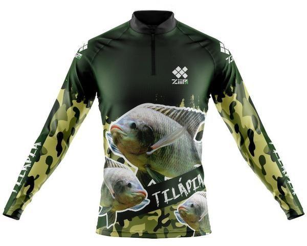 Camisa de pesca personalizada - Foto 4