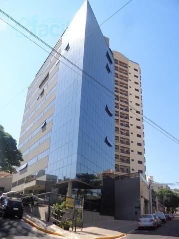 376 - Sala comercial Ed. Plaza Presidente Prudente