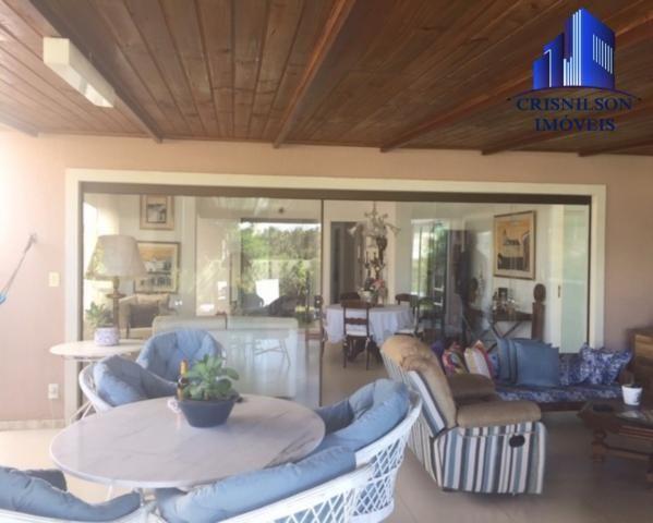 Casa à venda alphaville ii salvador, r$ 1.350.000,00, excelente casa térrea com jardim, am - Foto 10