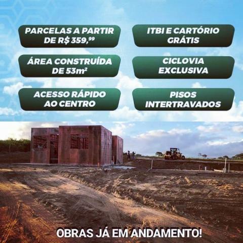 Casa com Sinal de 5 mil - Mensais a partir de 359 reais e descontos que chegam a 31 mil - Foto 4