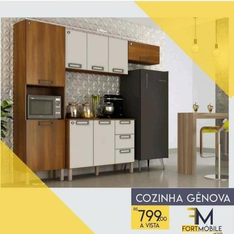 Cozinha Gênova ( Entrega Grátis)