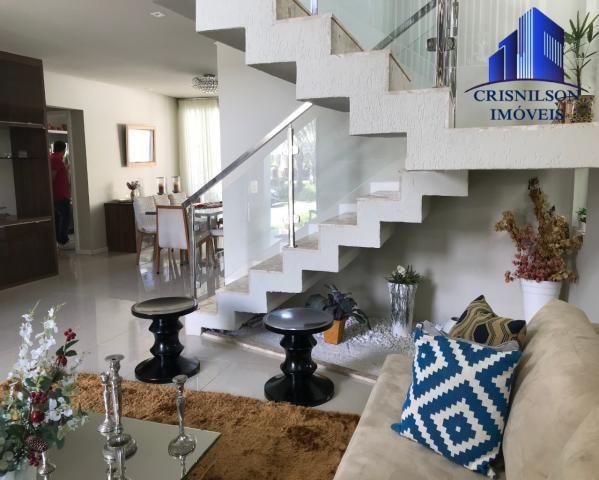 Casa à venda alphaville salvador i, excelente, r$ 2.500.000,00, piscina, espaço gourmet, 4 - Foto 2