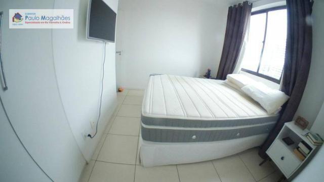 Apartamento com 3 dormitórios à venda, 70 m² - Graça - Salvador/BA - Foto 8