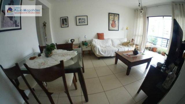 Apartamento com 3 dormitórios à venda, 70 m² - Graça - Salvador/BA - Foto 4